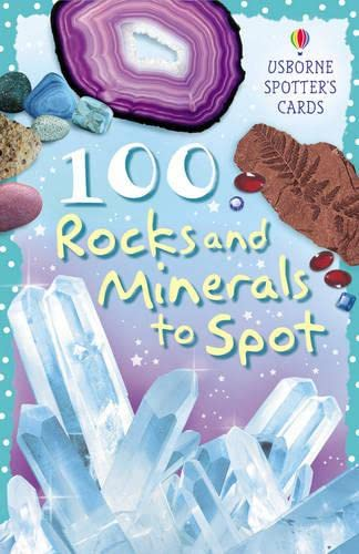 9780746095874: 100 Rocks and Minerals to Spot (Usborne Spotter's Cards)