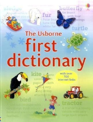 9780746096376: First Dictionary (Usborne Illustrated Dictionaries)