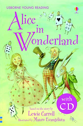 9780746096499: Alice in wonderland with CD - young reading 2 (3.21 Young Reading Series Two with Audio CD)