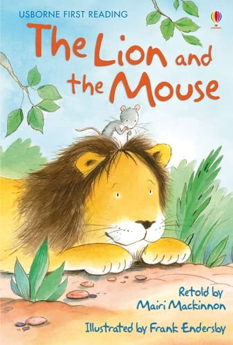 9780746096604: The lion and the mouse (Usborne First Reading)