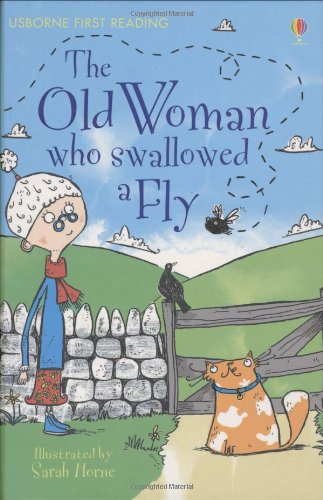 9780746096666: The Old Woman Who Swallowed a Fly (Usborne First Reading)