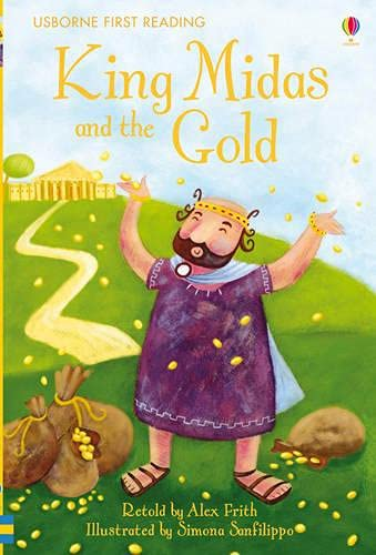 9780746096871: King Midas and the Gold (Usborne First Reading)