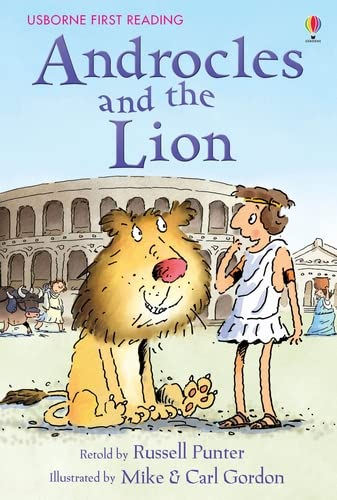 9780746096918: Androcles and the Lion (Usborne First Reading)