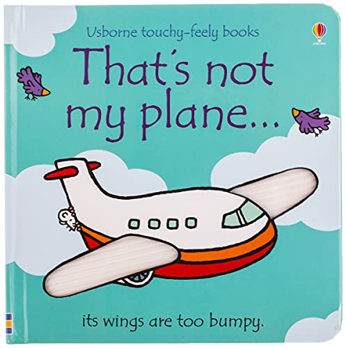 9780746097045: That's Not My Plane...(Usborne Touchy-Feely Books)