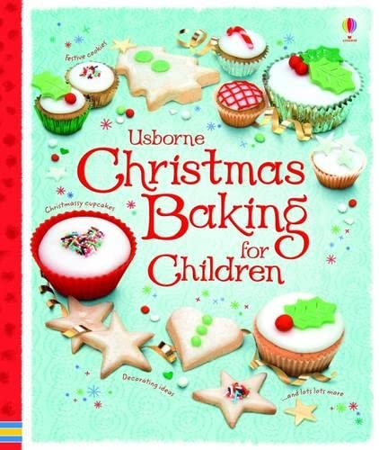 9780746097649: Christmas Baking Book for Children (Usborne First Cookbooks)