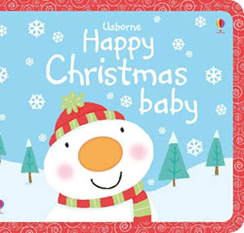 9780746097717: Happy Christmas Baby (Usborne Cloth Books)