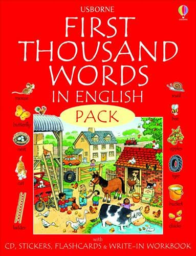 9780746097724: First 1000 Words Pack - English