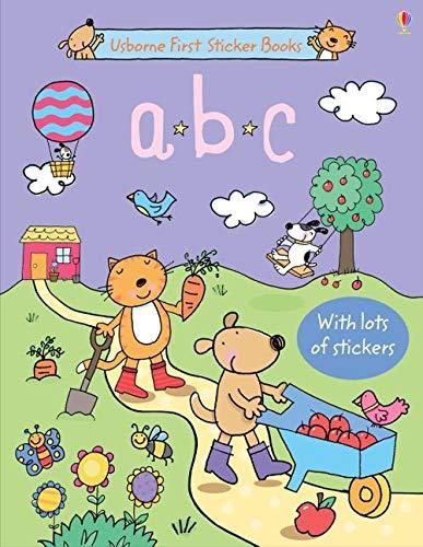 9780746097878: ABC sticker book. Con adesivi