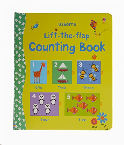 9780746097922: Counting Book (Usborne Lift-the-Flap-Books)