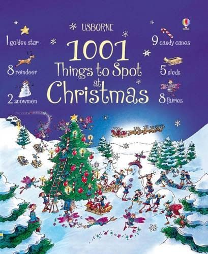 9780746097939: 1001 Things to Spot at Christmas