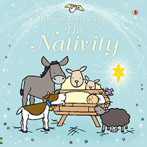 9780746098349: Touchy-feely Nativity (Usborne Touchy Feely Books)