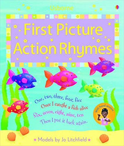 9780746098400: First Picture Action Rhymes: Sound Book (Noisy Book)
