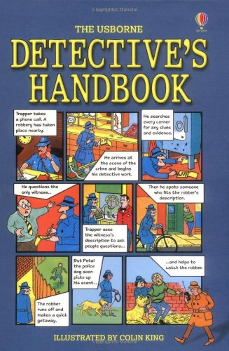 9780746098448: Detective's Handbook (Usborne Guidebooks)