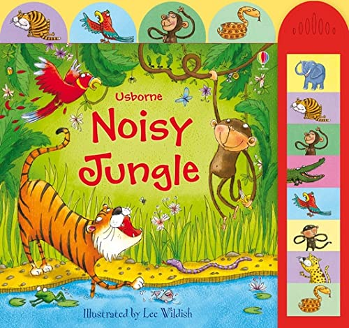 9780746098981: Noisy Jungle (Usborne Busy Sounds)
