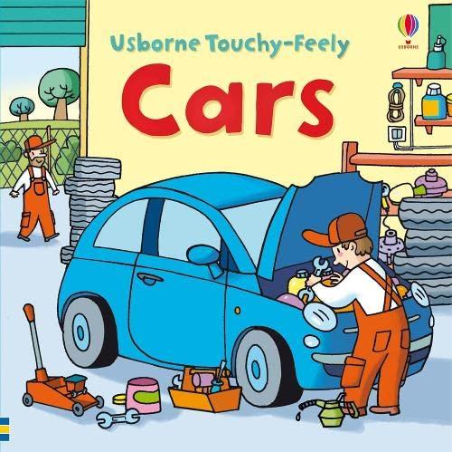 9780746099674: Touchy-feely Cars (Usborne Touchy Feely Books)