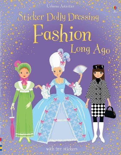 9780746099711: Sticker Dolly Dressing Fashion Long Ago