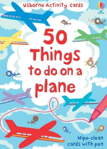9780746099889: 50 Things to Do on a Plane: Usborne Activity Cards