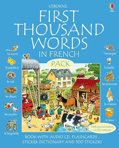 9780746099940: First Thousand Words in French Pack (First Thousand Words)