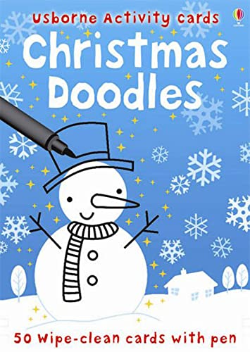 9780746099988: Christmas Doodles (Usborne Activity Cards) (French Edition)