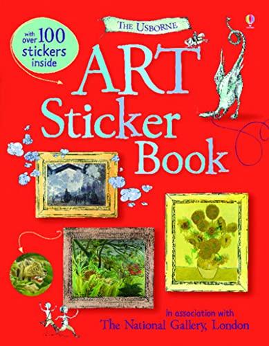 9780746099995: Art Sticker Book