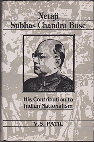 9780746501276: Netaji Subhas Chandra Bose: His Contribution to Indian Nationalism