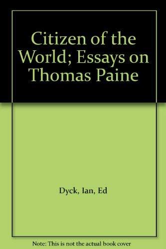 9780747006022: Citizen of the World; Essays on Thomas Paine