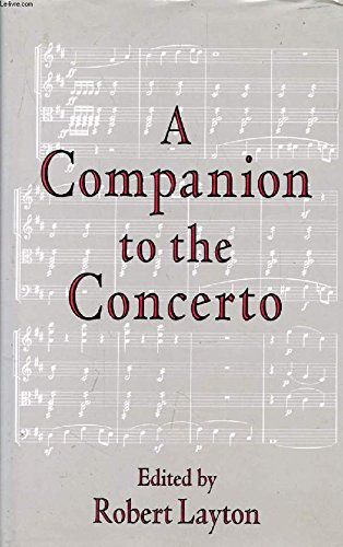 A Companion to the Concerto: Nicholas Anderson &