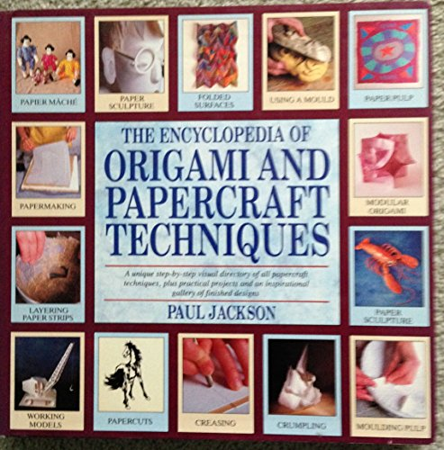 9780747204169: Encyclopedia of Origami and Papercraft Techniques