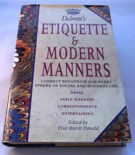 9780747206576: Debrett's Etiquette and Modern Manners