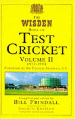 9780747211181: The Wisden Book of Test Cricket: v. 2