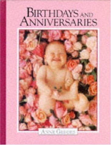 9780747215479: Birthdays and Anniversaries