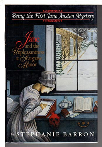 Jane and the Unpleasantness at Scargrave Manor --Signed--: BARRON, STEPHANIE [Francine Mathews]