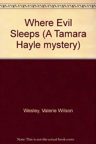 9780747217510: Where Evil Sleeps (A Tamara Hayle mystery)