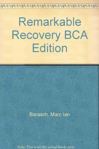 9780747225379: Remarkable Recovery BCA Edition