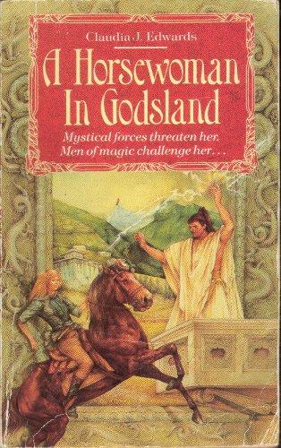 Horsewoman in Godsland: Claudia Edwards