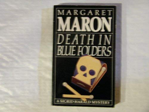 9780747232100: Death in Blue Folders (Sigrid Harald series, 3)