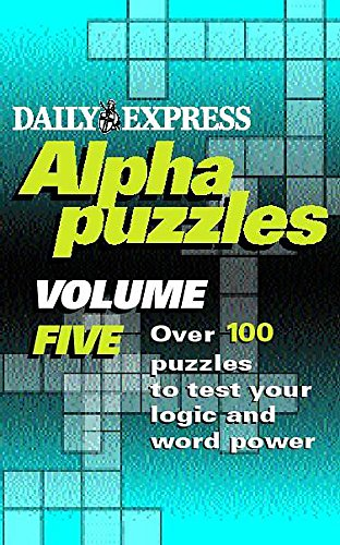 Express' Alphapuzzles (v. 5) (9780747233848) by Express