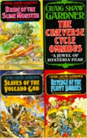 9780747238898: Cineverse Cycle Omnibus:Slaves of the Volcano God,Bride of the Slime Monster,Revenge of the Fluffy Bunnies