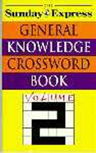 9780747240662: Sunday Express General Know Xword 2 (v. 2)