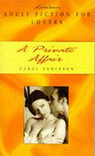 A Private Affair (0747252114) by Carol Anderson