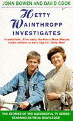 9780747253471: Hetty Wainthropp Investigates