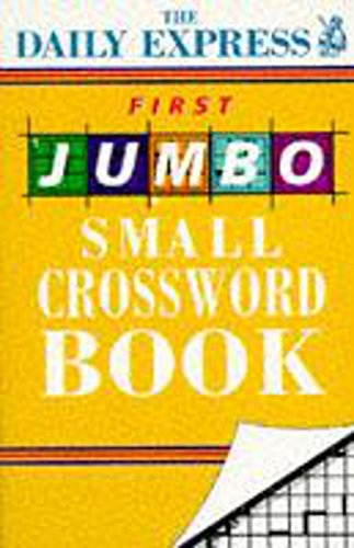 9780747254867: First Jumbo Daily Express Crossword Book