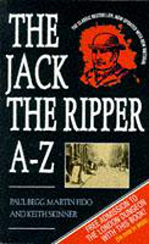 9780747255222: Jack the Ripper A to Z