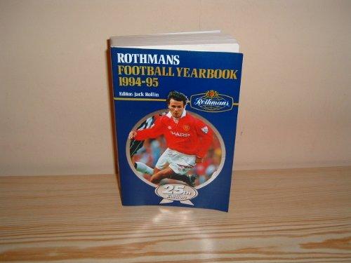 9780747278573: Rothman's Football Year Book 1994-95