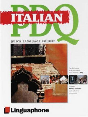 9780747308492: Italian (Linguaphone PDQ)