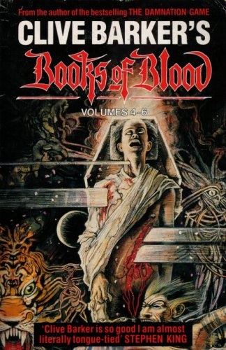 9780747401650: Books of Blood, Vol. 4-6