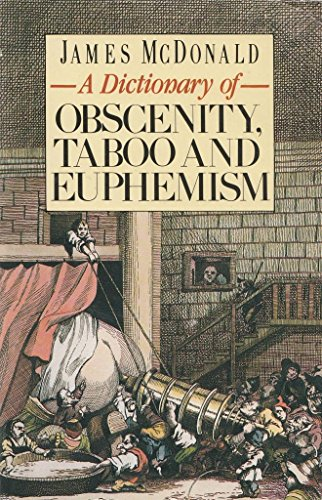 9780747401667: A Dictionary of Obscenity, Taboo and Euphemism