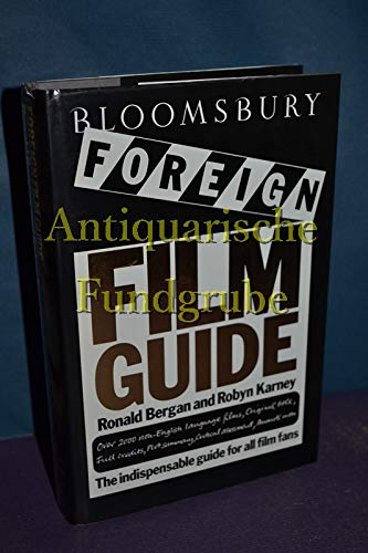 9780747500483: Bloomsbury Foreign Film Guide