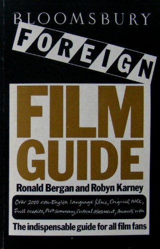 9780747500490: Bloomsbury Foreign Film Guide