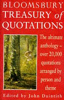9780747518136: Bloomsbury Treasury of Quotations